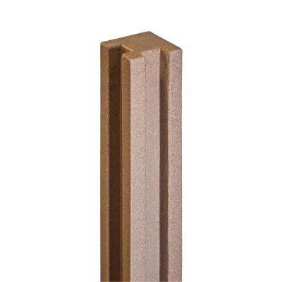 5 in. x 5 in. x 8-1/2 ft. Ashland Red Cedar Composite Fence Corner Post