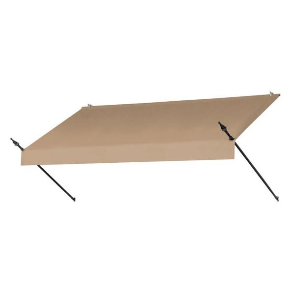 Awnings in a Box 8 ft. Designer Manually Retractable ...