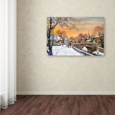 """12 in. x 19 in. """"Village II"""" by The Macneil Studio Printed Canvas Wall Art"""