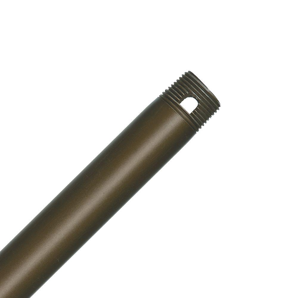 Casablanca Perma Lock 18 in. Oil-Rubbed Bronze Extension Downrod for 13 ft. ceilings