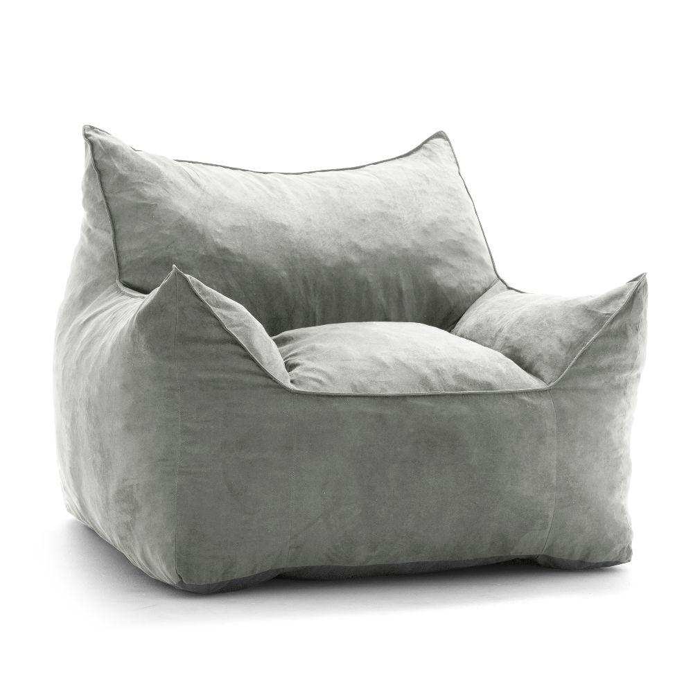Groovy Big Joe Imperial Lounger Shredded Ahhsome Foam Cement Alphanode Cool Chair Designs And Ideas Alphanodeonline
