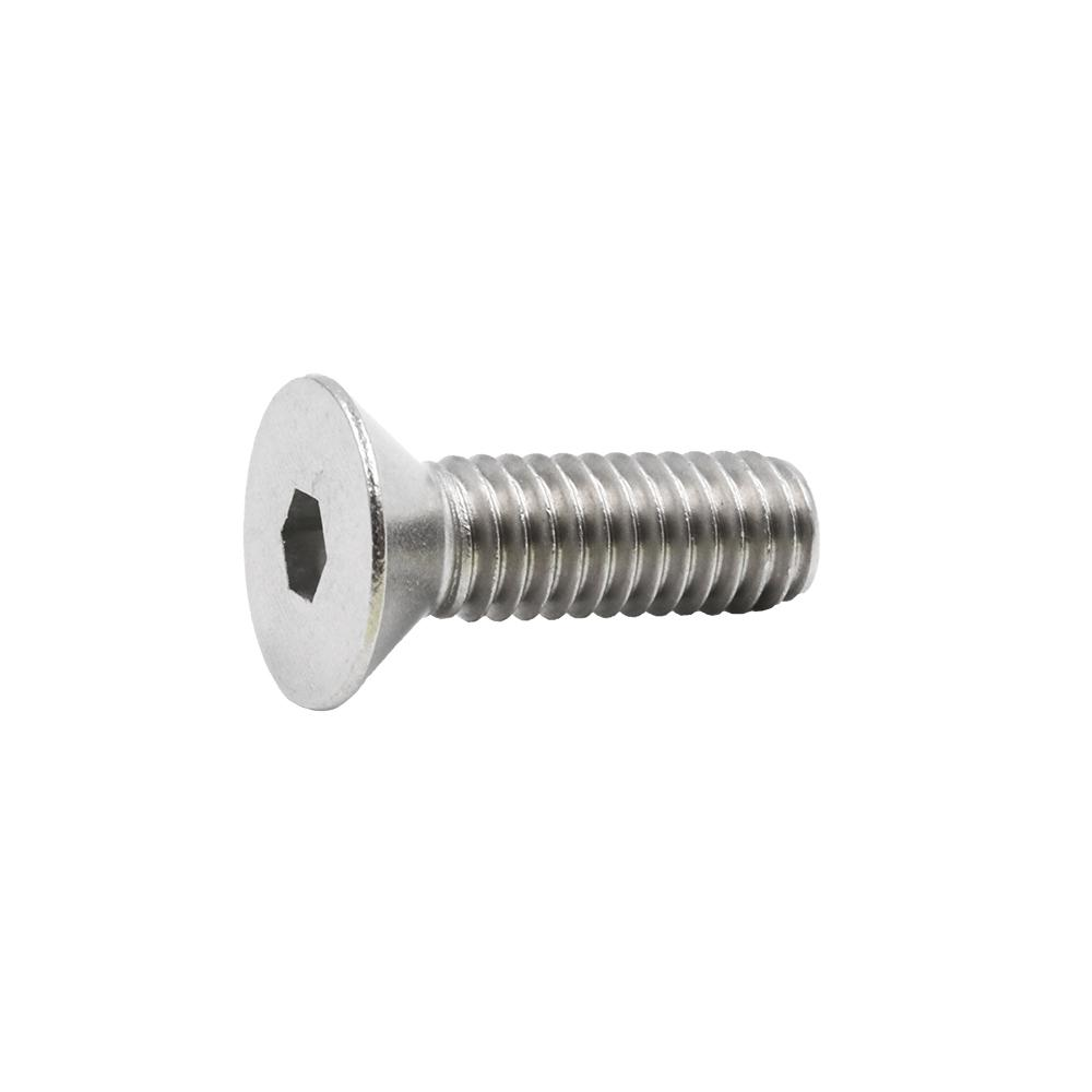 Bright Finish Threaded Stainless Steel 18-8 Quantity 15 Pieces by Bridge Fasteners 5//16-18 x 1 Flat Head Socket Head Cap Screws Allen Socket Drive