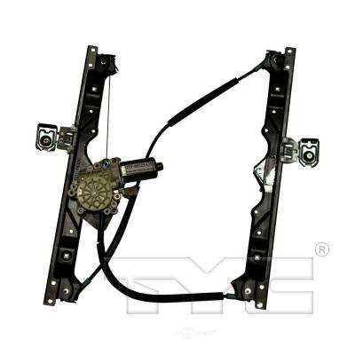 Front Right Power Window Motor and Regulator Assembly fits 2006-2010 Jeep Grand Cherokee