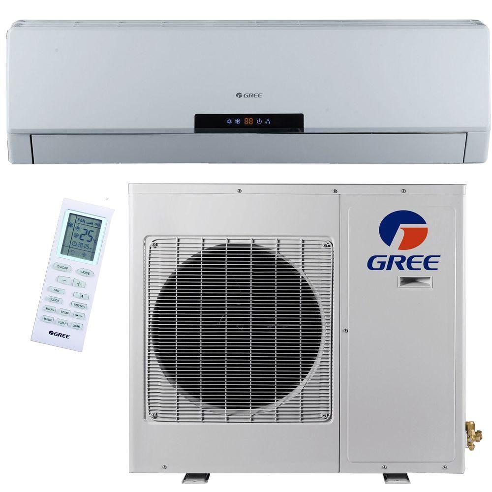 GREE Premium Efficiency 18000 BTU 15 Ton Ductless Mini