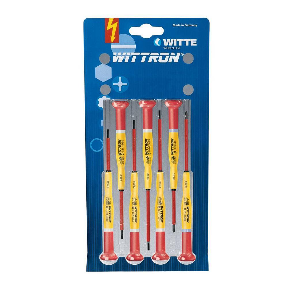 WITTRON 1,000-Volt Insulated Set (7-Piece)