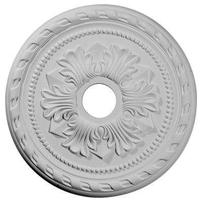 20-7/8 in. O.D. x 3-5/8 in. I.D. x 1-5/8 in. P Palmetto Ceiling Medallion