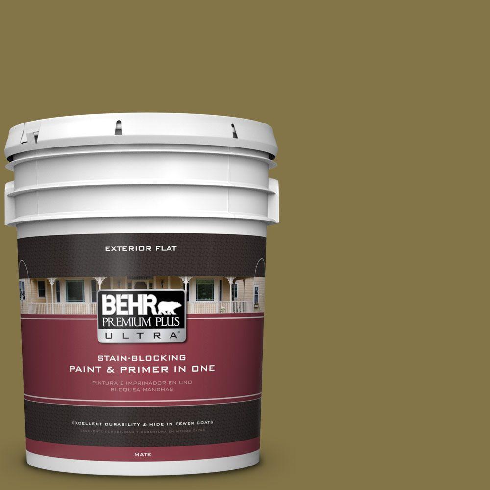 BEHR Premium Plus Ultra 5-gal. #PPU6-20 Eden Prairie Flat Exterior Paint