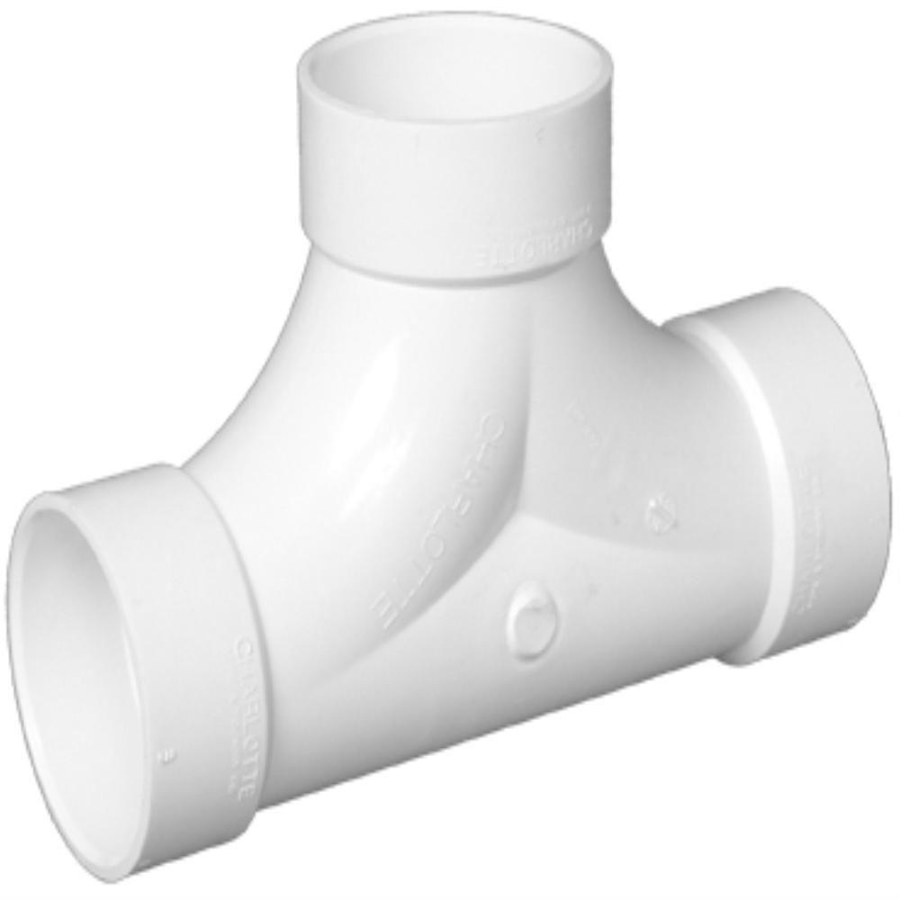 Charlotte Pipe 3 in. DWV PVC 2-Way Cleanout
