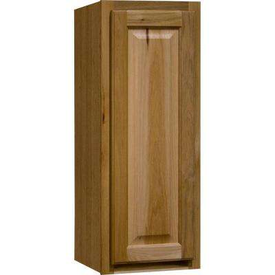 Hampton Assembled 12x30x12 in. Wall Kitchen Cabinet in Natural Hickory