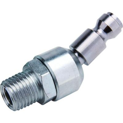 Zinc 1/4 in. x 1/4 in. Male to Male Swivel Automotive Plug