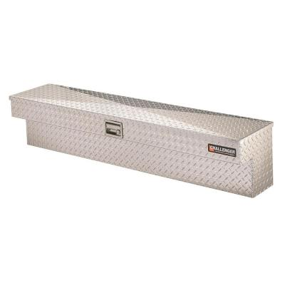 Silver color may vary Lund//Tradesman 9760 60-Inch Aluminum Side Mount Box Diamond Plated