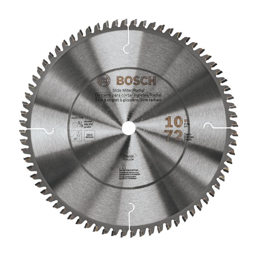 Bosch 10 in. Miter Saw Blade (Box)