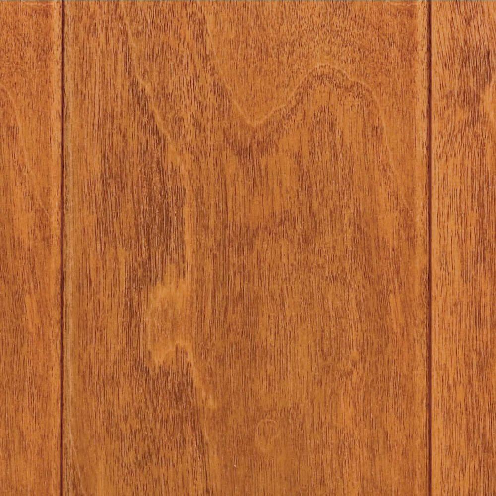 Take Home Sample - Hand Scraped Maple Sedona Click Lock Hardwood Flooring - 5 in. x 7 in.