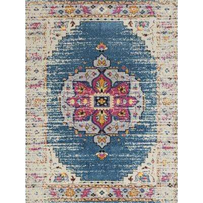 Mandisa Turqouise 7 ft. 9 in. x 11 ft. Rectangle Area Rug