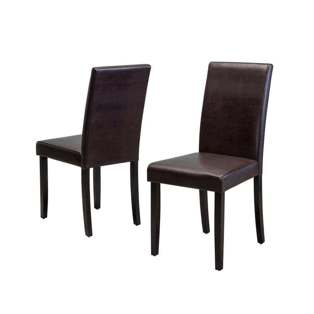 Astonishing Bonded Leather Dining Chair Spiritservingveterans Wood Chair Design Ideas Spiritservingveteransorg