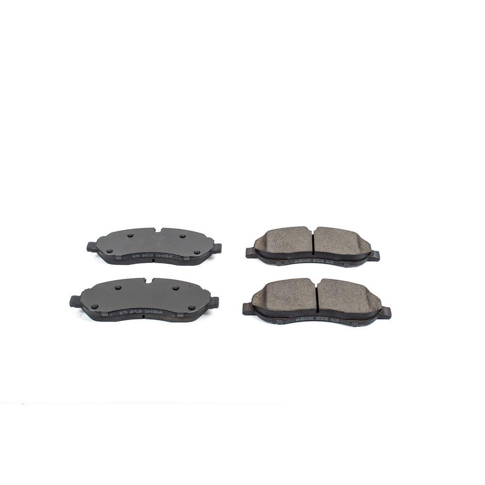 Front Evolution Ceramic Disc Brake Pad fits 2015-2016 Ford Transit-150,Transit-250,Transit-350,Transit-350 HD