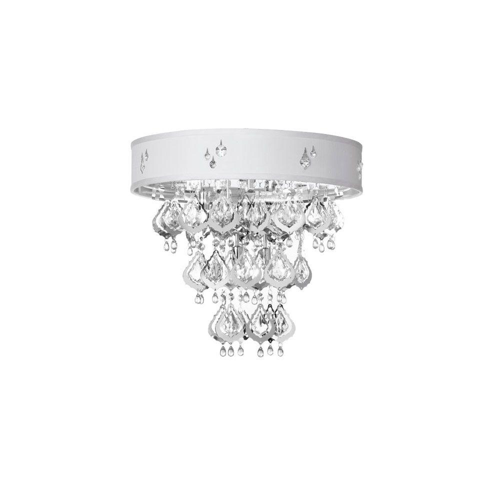 Filament Design Catherine 5-Light Polished Chrome Flush Mount