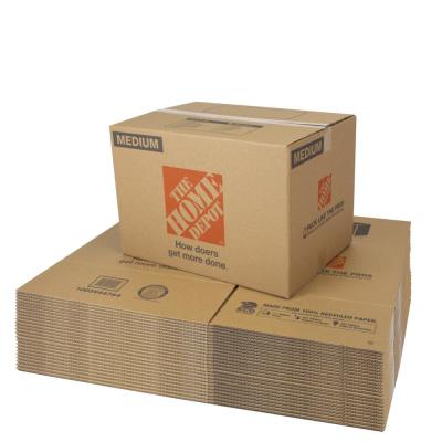 Medium Moving Box 25-Pack (22 in. L x 16 in. W x 15 in. D)