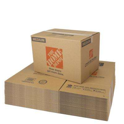 22 in. L x 16 in. W x 15 in. D Medium Moving Box (25 Pack)