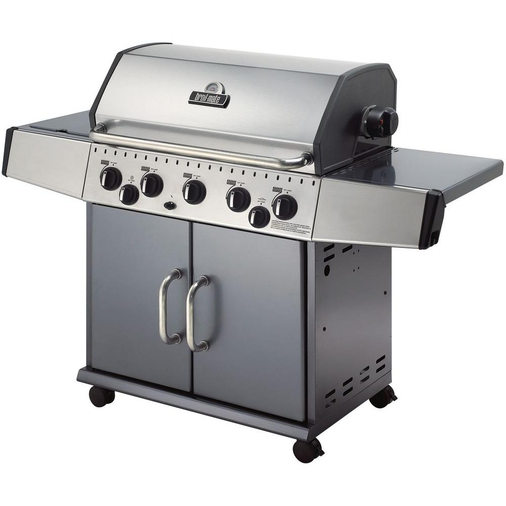 Broil-Mate 5-Burner Stainless Steel Natural Gas Grill