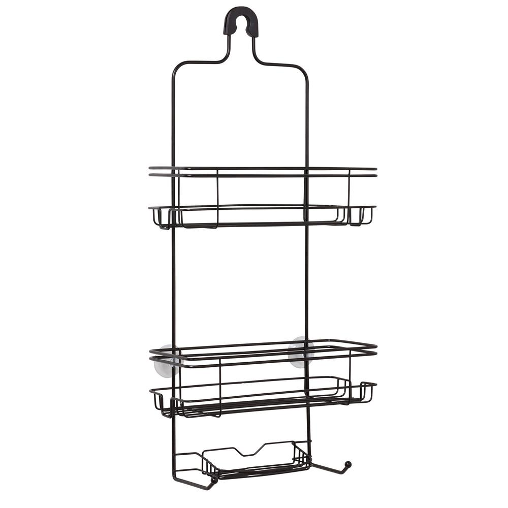 Glacier Bay Large Over-the-Shower Caddy in Bronze-7508HBHD - The ...