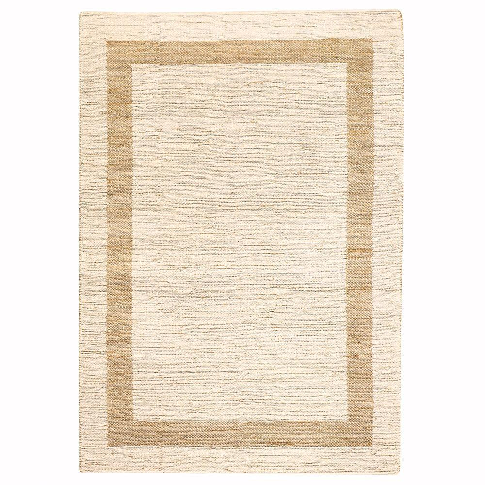 Home Decorators Collection Boundary Natural 8 Ft X 11 Area Rug
