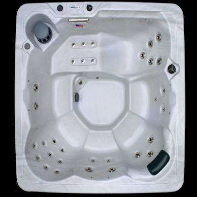 6 Person 34 Jet Spa with Stainless Jets and 110V GFCI Cord Included