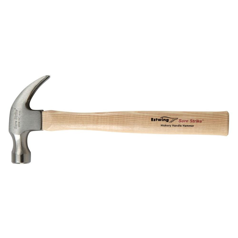 Estwing 13 Oz. Sure Strike Hammer with Hickory Handle