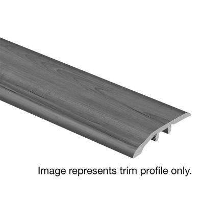 Biscayne Oak 1/3 in. Thick x 1-13/16 in. Wide x 72 in. Length Vinyl Multi-Purpose Reducer Molding