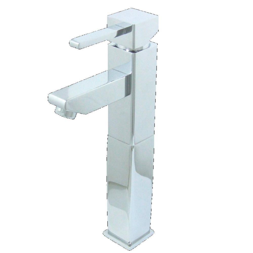 Kingston Brass Claremont Single Hole Single-Handle Bathroom Faucet in Chrome