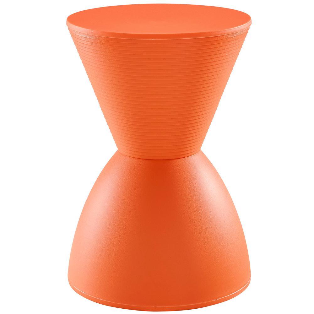 Haste Orange Stool