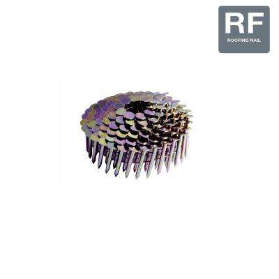 1-1/4 in. Smooth Galvanized Collated Roofing Nails (7,200-Pack)