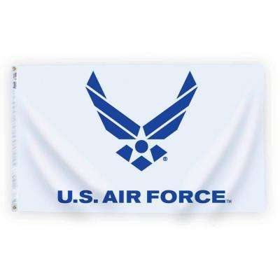 3 ft. x 5 ft. U.S. Air Force Blue Wings Logo Armed Forces Flag