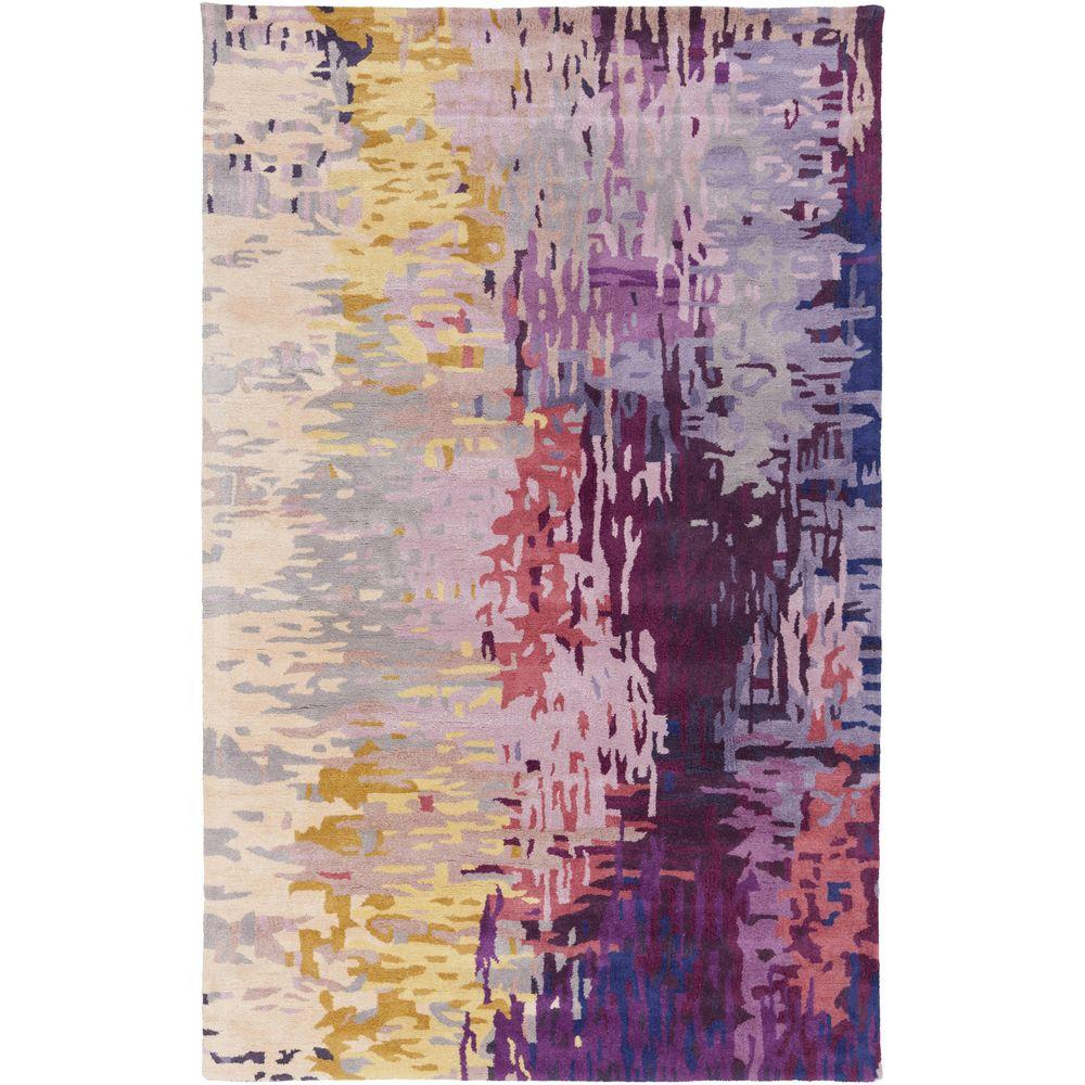 Misk Multi-Colored 8 ft. x 11 ft. Indoor Area Rug