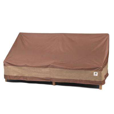 Ultimate 104 in. Brown Patio Sofa Cover