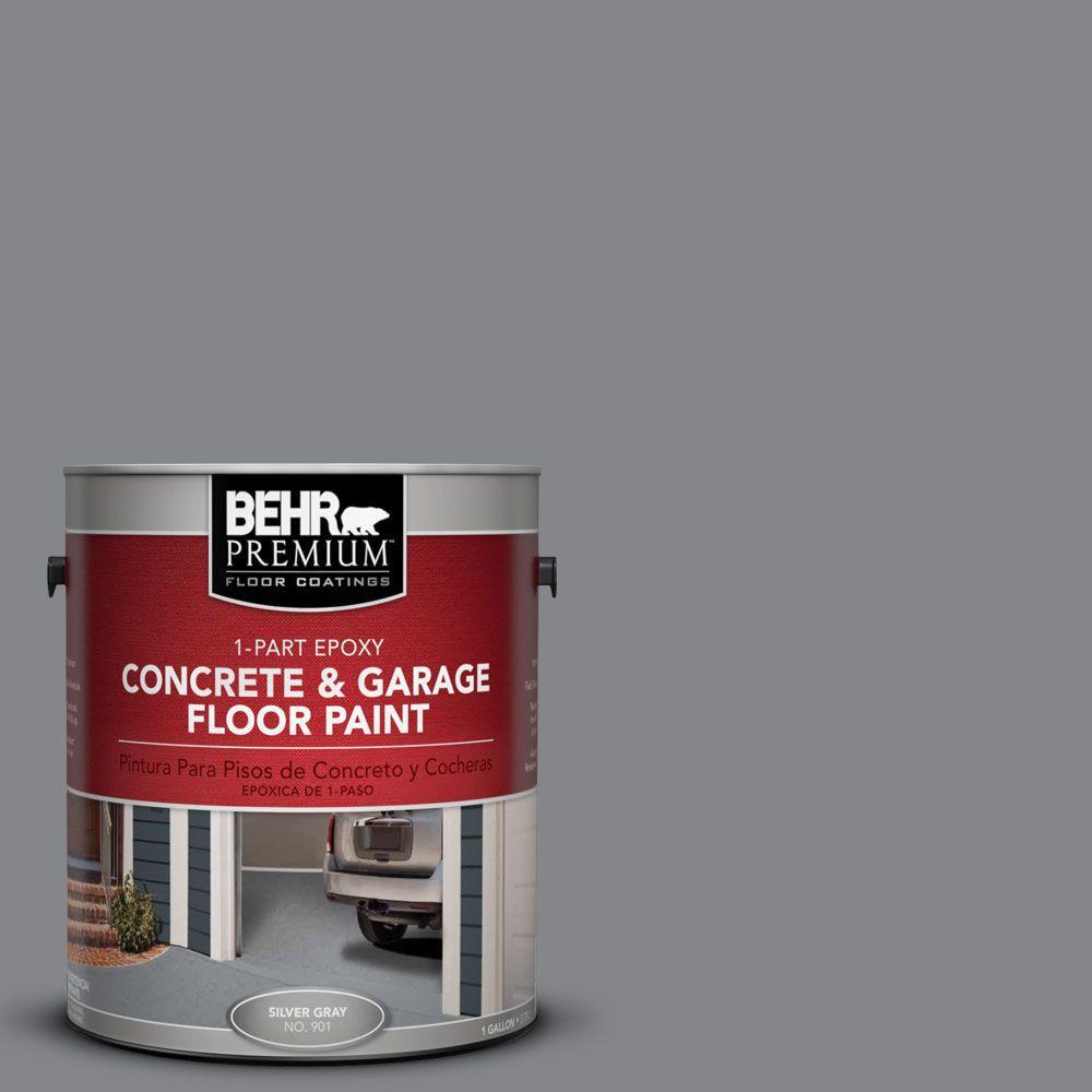 BEHR Premium 1 gal. #PFC-64 Storm 1-Part Epoxy Concrete and Garage Floor Paint