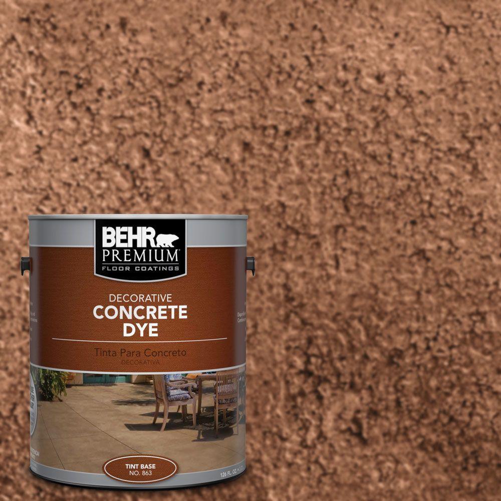 BEHR Premium - Semi-Transparent - Concrete Stain - Exterior Stain ...
