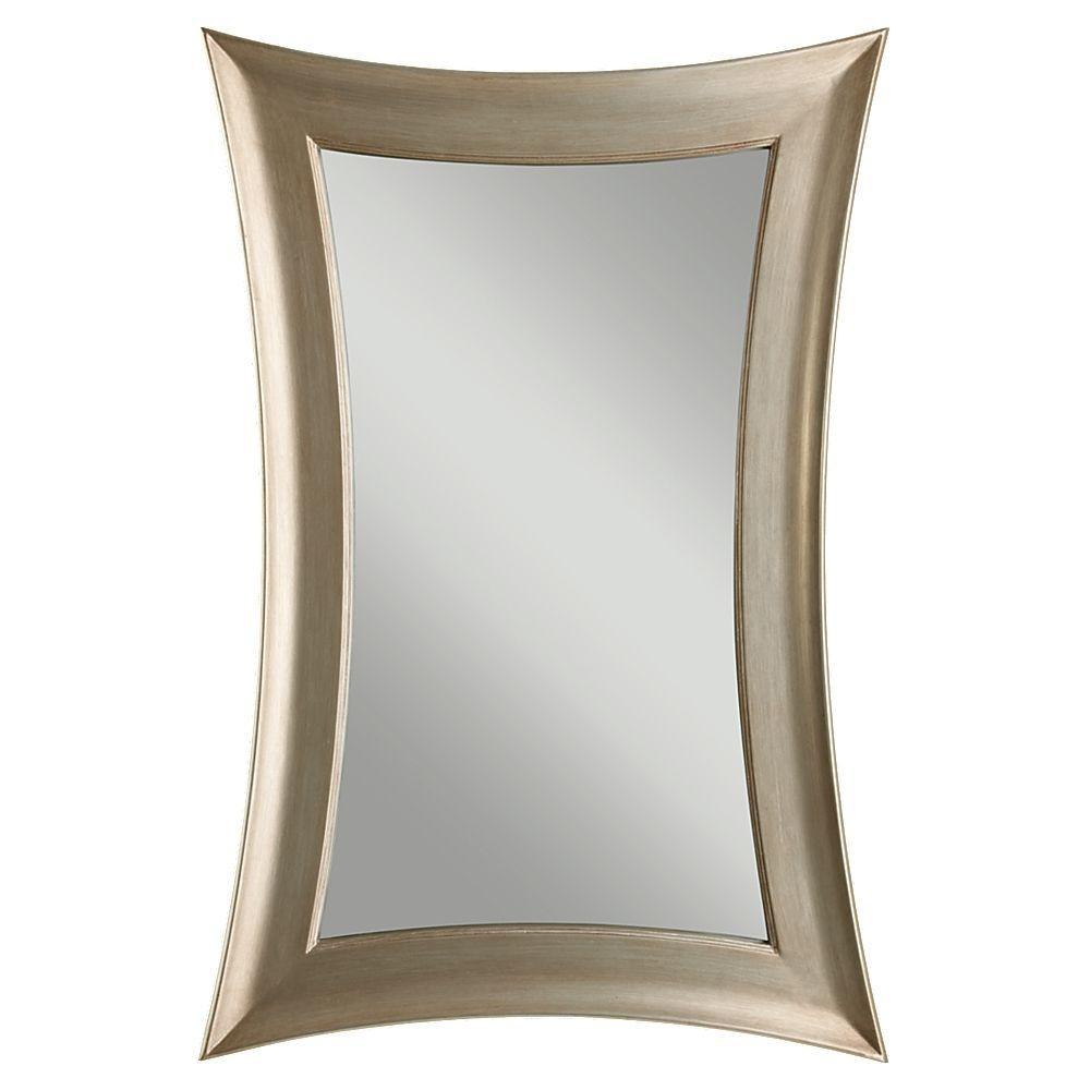 Georgette Silver Leaf Wall Mirror
