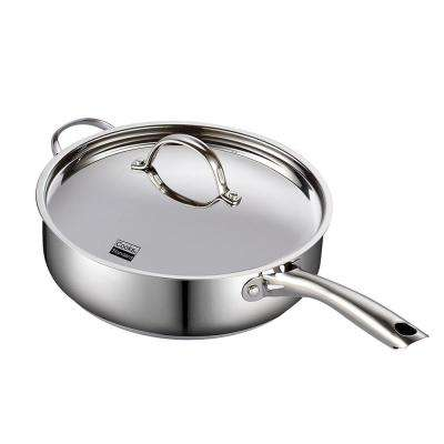 5 Qt. Stainless Steel Saute Pan with Lid