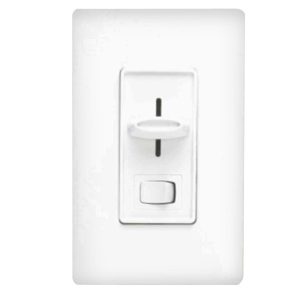 Lutron Skylark 1000-Watt 3-Way Dimmer - White-S-103PH-WH - The Home ...