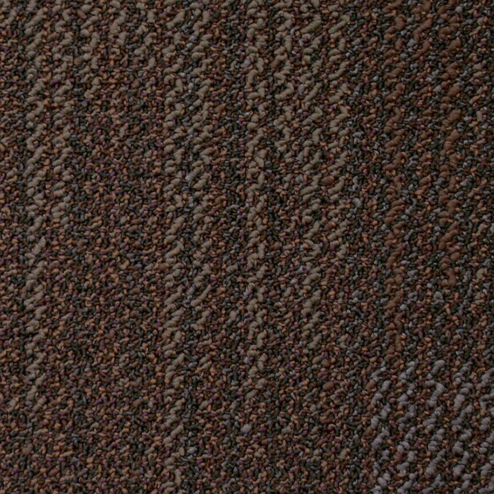 Liberty Coffee House Loop 19.7 in. x 19.7 in. Carpet Tile