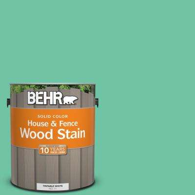 1 gal. #P420-4A Gem Silica Solid Color House and Fence Exterior Wood Stain
