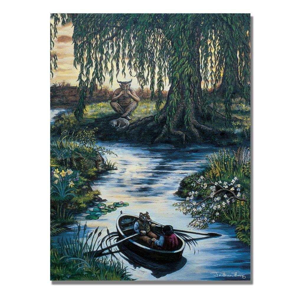 Trademark Fine Art 24 in. x 32 in. The Piper at the Gates of Dawn Canvas Art-DISCONTINUED