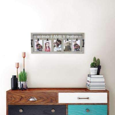 4 in. x 6 in. Mulkey Family Collage Frame