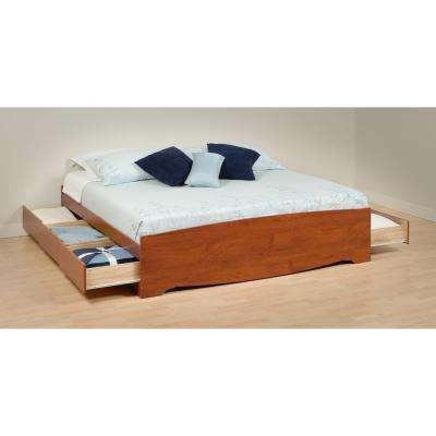 Monterey King Wood Storage Bed