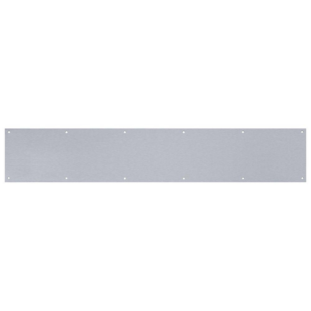 Tell Manufacturing 6 in. x 34 in. Aluminum Kickplate