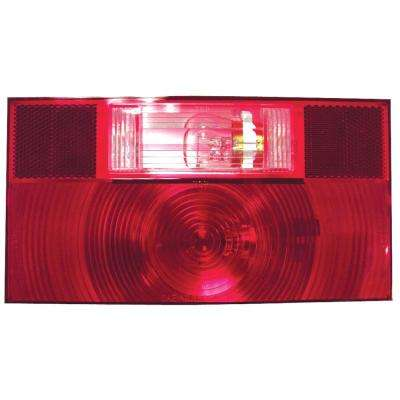 Stop, Turn and Tail Light with Reflex - Replacement Lens for V25912