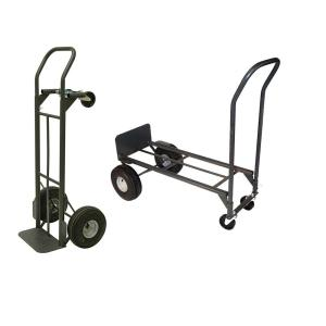 Milwaukee 800 lb. Capacity 2-in-1 Convertible Hand Truck by Milwaukee