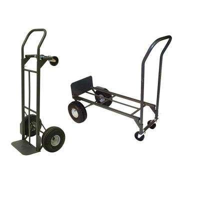 800 lb. Capacity 2-in-1 Convertible Hand Truck