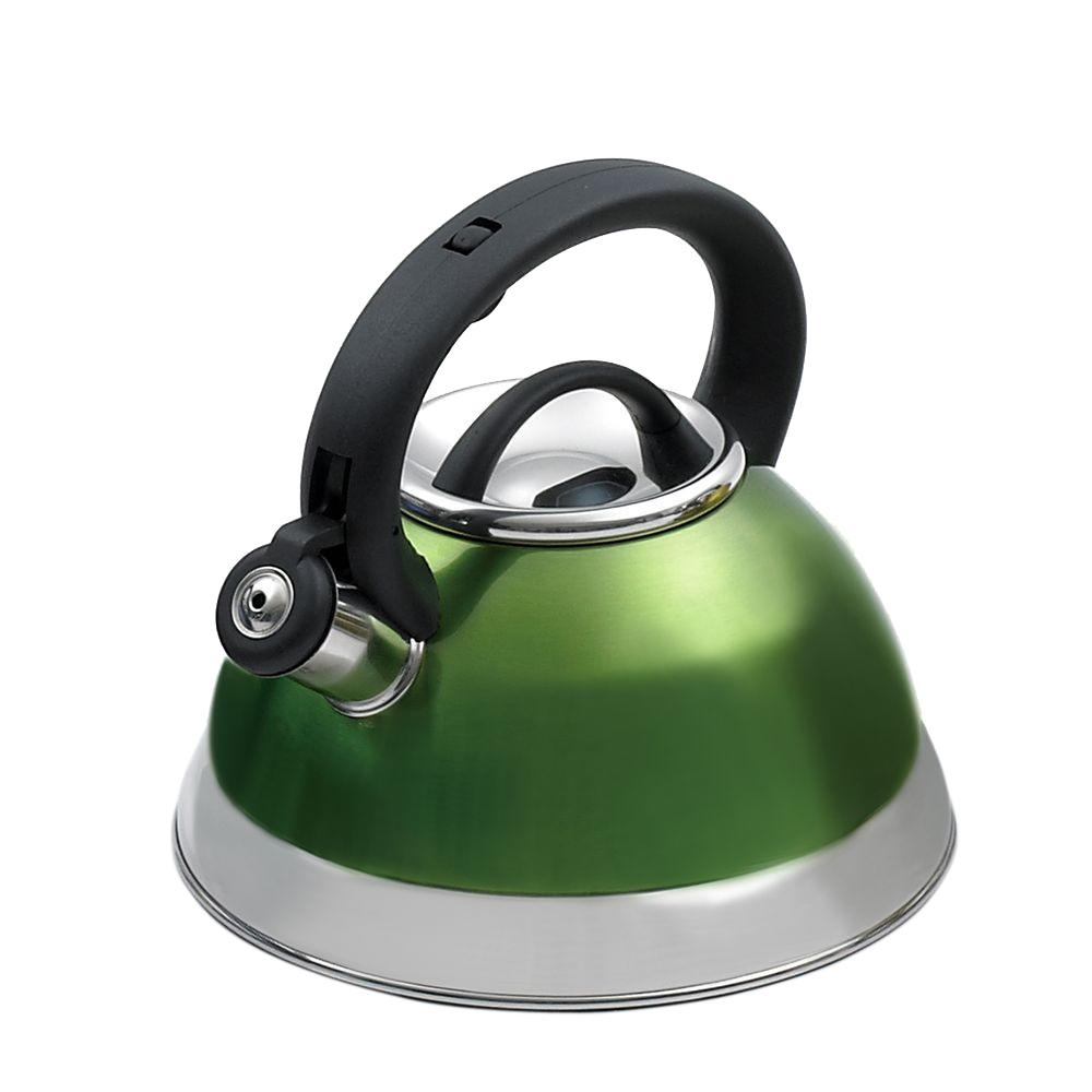 Creative Home Alexa 12-Cup Stovetop Tea Kettle in Chartreuse